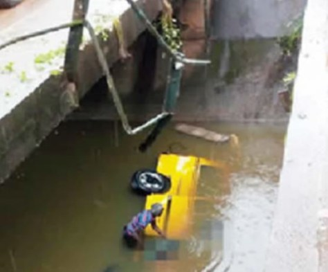Two people die as?commercial bus?plunges Into Osun river (Photo)