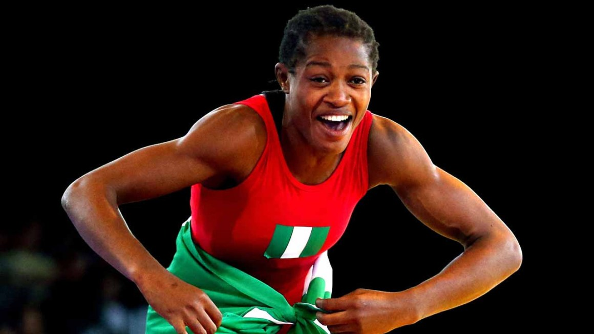 Adekuoroye: The incredible feat of a female world wrestling champion