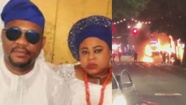 Nigerian man intentionally drives van into residential apartment where his ex-wife lived in the US, causing fire lindaikejisblog