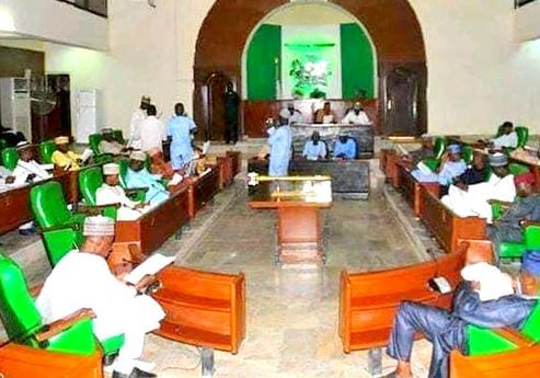 The Jigawa State House of Assembly has suspended two principal officers of the House for six months over interference with an investigation by the lawmakers. � Those suspended are the former Chief Whip of the House, Aminu Sule, and former Majority Leader, Sani Ishaq, both members of the All Progressives Congress (APC) representing Ringim and Gumel constituencies respectively. � Charmian of the House Committee on Information,�Aminu Zakari, disclosed this to reporters on Tuesday at the end of plenary in the Dutse, the state capital. � � According to him, both members allegedly attempted to confiscate some financial documents in the Ministry of Finance to prevent the committee set up by the House to investigate financial misappropriation between 2017 and 2018 perform its duties effectively. � When contacted, the former Majority Leader denied the allegation, stressing that it was not honourable for a member of the House to engage in such activities. Sule and Ishag were impeached along with the former Speaker of the House, Mr Isah Idris, in May 2019.