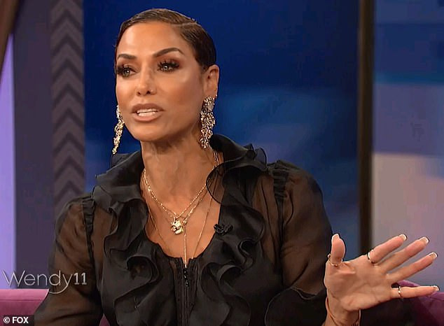 Nicole Murphy says she regrets kissing married movie director, Antoine Fuqua. Claims she didn