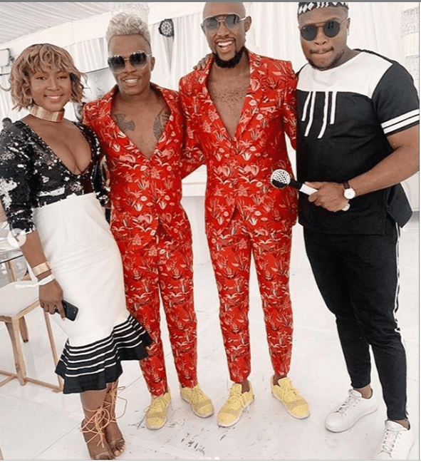 Photos: South African Gay Media Personality Somizi and His Partner Mohale's Celebrate Traditional Wedding