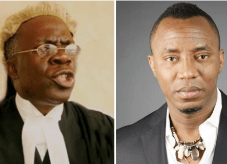 Sowore: Why SSS cannot report Justice Taiwo to NJC ? Femi Falana explains