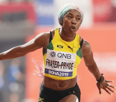 Jamaica Fraser Pryce becomes world fastest woman