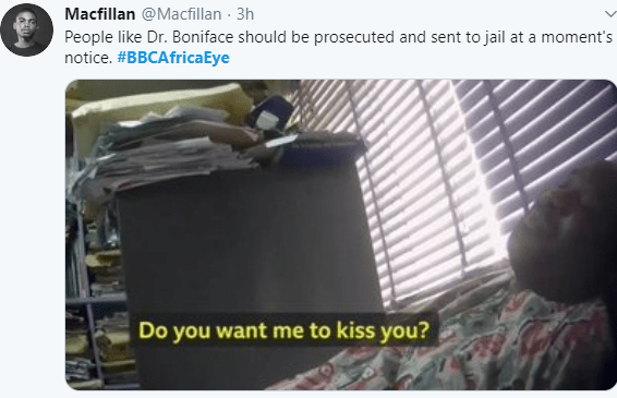 Nigerians and Ghanaians react as lecturers are caught on camera asking students for sex in exchange for favours