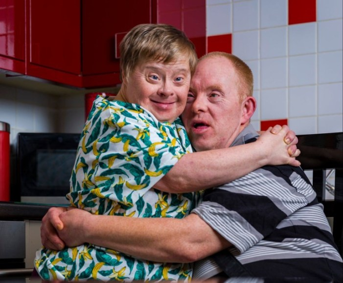 World 1st Official Couple With Down Syndrome that Have Been Married for 27 Years- Photos