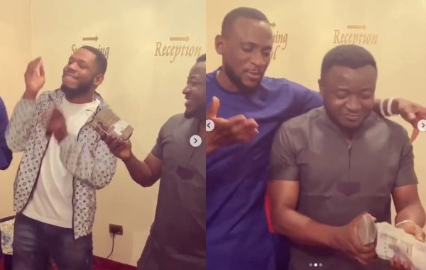Frodd and Omashola get N500k and N300k from MC Galaxy (video)