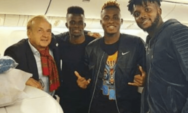 Super Eagles depart for Singapore ahead of Brazil friendly (Photos)