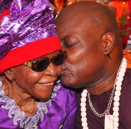 Charly Boy's mum,�Margaret Oputa dies at the age of 101