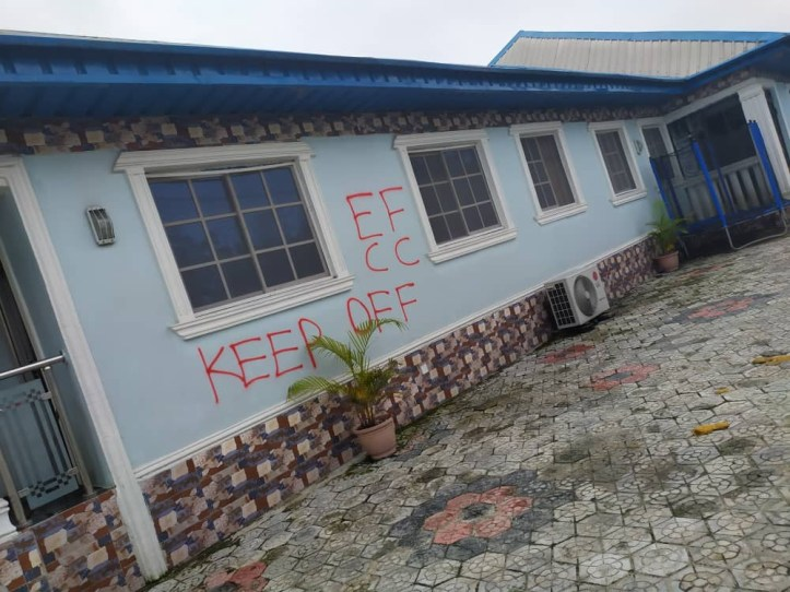 See pictures of house and cars belonging to Delta state chief arrested for fraud