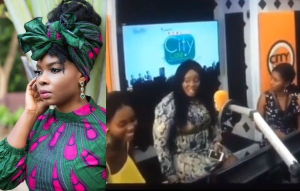 Yemi Alade calls out City FM OAPs caught on camera mocking female artistes (video)