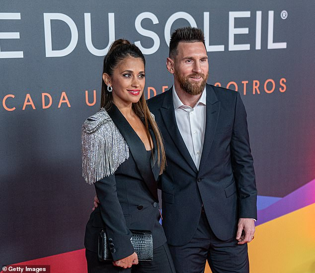 Lionel Messi steps out with his wife Antonella Roccuzzo for Premiere of