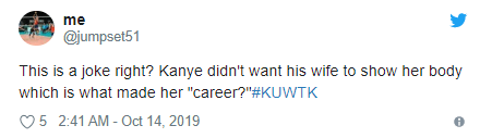 Kanye West complains to Kim Kardashian about her
