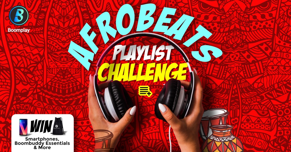 Win Smartphones & more in the Afrobeats Playlist Challenge. It?s another #BoomFelabration!