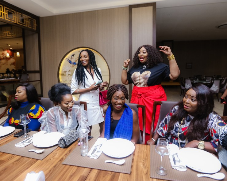 Photos: Ghana?s Becca unites Nigeria?s Female Musicians for an Evening of sisterhood