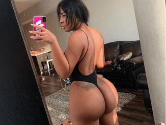 Check out the massive butt on Jim Iyke's 'ex-girlfriend' Sandra Benede (See +18 photos)