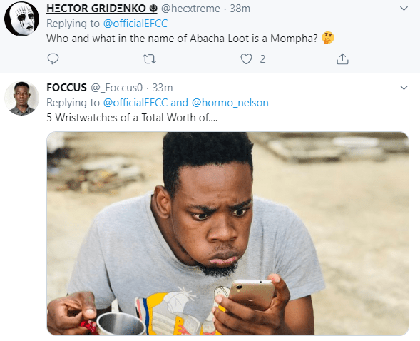 Nigerians react to reports of Mompha