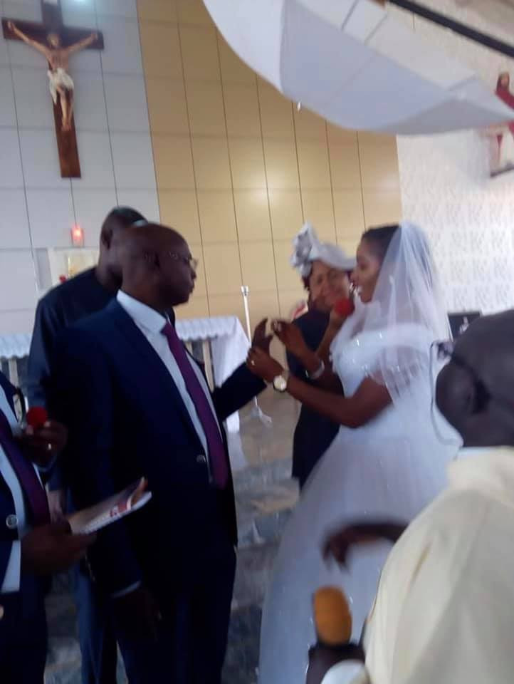 Photos from alleged wedding ceremony of former Catholic Priest of 25 years in Kaduna