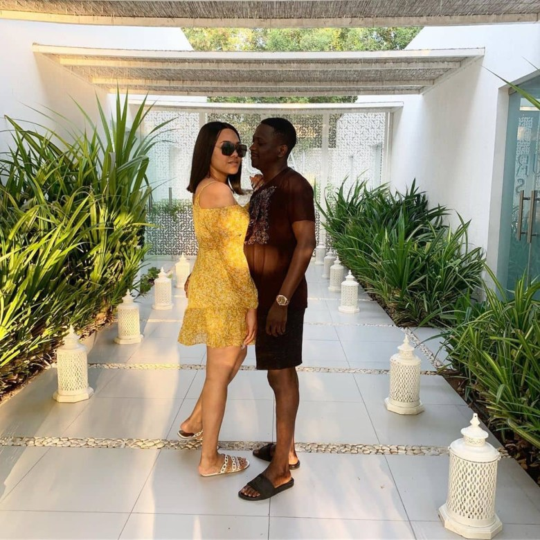 Tania Omotayo shares photos and videos from her husband
