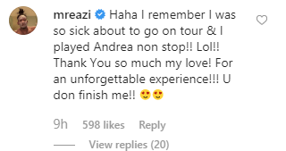 Temi Otedola surprises Mr Eazi with tickets to Andrea Bocelli concert after he made her watch his video on their second date