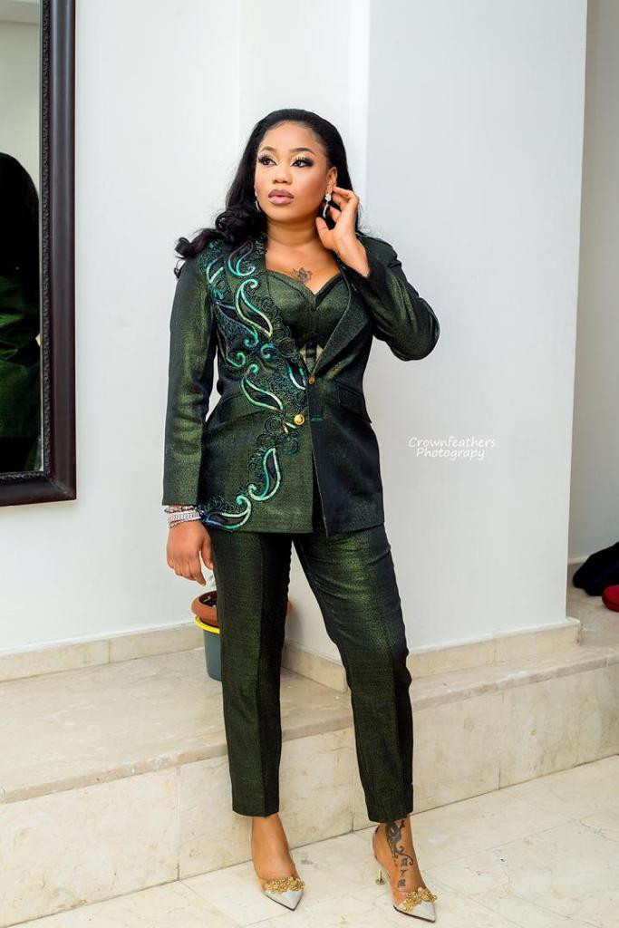 Toyin Lawani nailed the 2019 Headies as she styled hosts Nancy and Reminisce