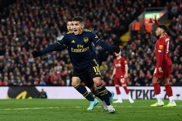 Liverpool dump Arsenal out of Caraboa cup through penalties after thrilling 5-5  draw with Arsenal