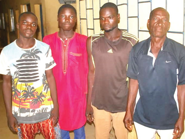 60-year-old, three others arrested for defiling 9-year-old in Niger (photo)