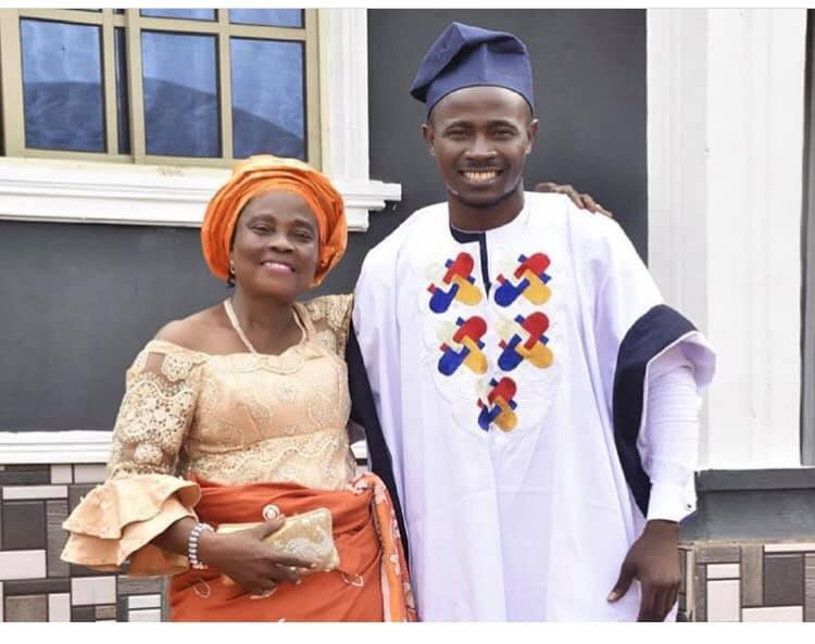 Comedian Gbovo builds a house for his mother