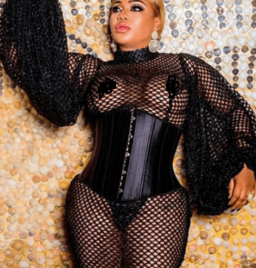 Toyin Lawani admits she had breast implant surgery