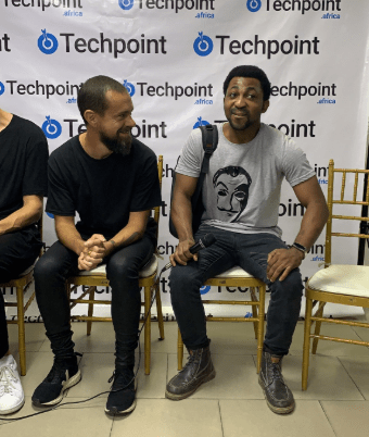 Amazing! Nigerian tech developer, Dara Oladosu, gets job offer from Twitter at a meeting with Twitter CEO Jack Dorsey (video)