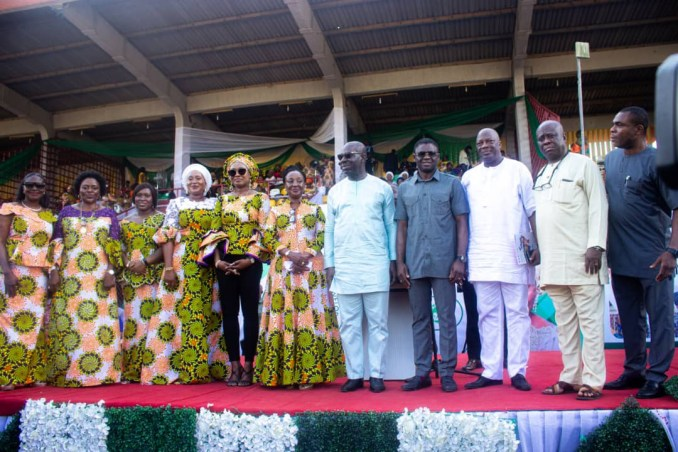 Obaseki celebrates women at the 3rd Alaghodaro Women Summit