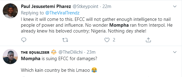 Nigerians reacts to Mompha