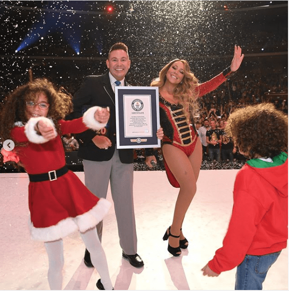 Mariah Carey breaks three Guinness World Records with her Christmas classic song (Photos)