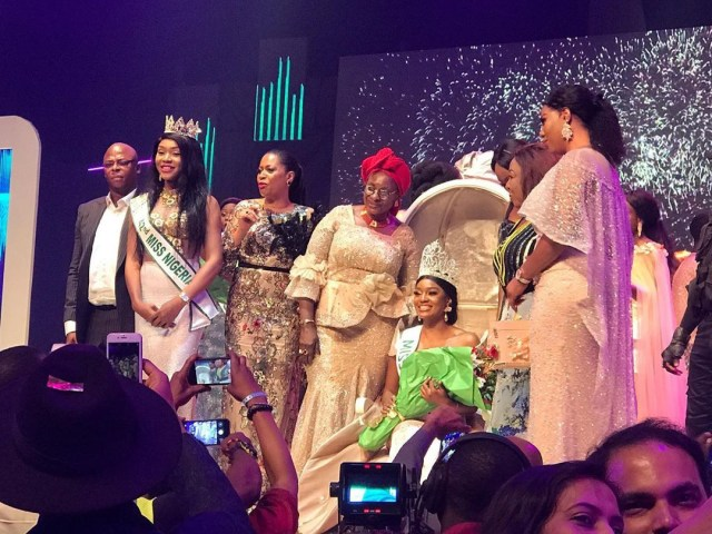 Etsanyi Tukura crowned Miss Nigeria 2019 (photos)
