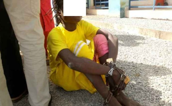 Father of 15 allegedly chains and drags daughter through the streets for missing school