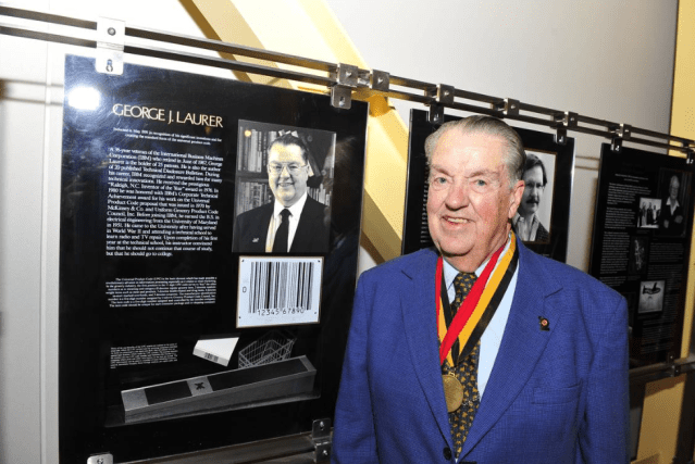 Former IBM engineer George Laurer, who invented the supermarket bar code, dies at 94