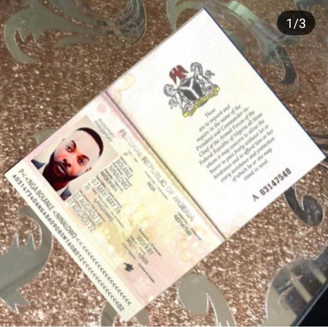 Scammers create fake passport and bank ATM with actor Bolanle Ninalowo