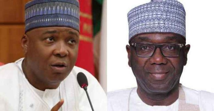 You have crossed the line ? Saraki slams Governor Abdulrazaq over revocation of land assigned to his late father lindaikejisblog
