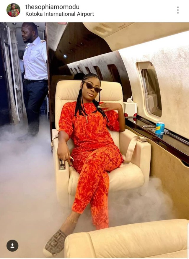 Sophia Momodu and daughter, Imade, fly with Davido to Ghana for a mini holiday and attend his music engagement