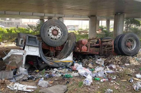 Two killed in Otedola Bridge accident (photos)