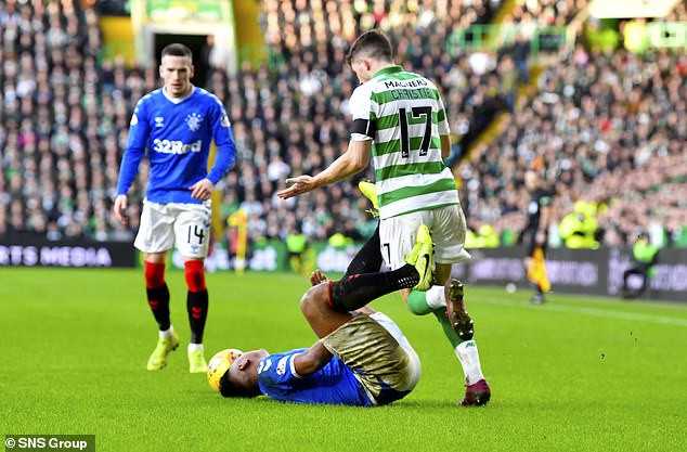 Celtic star Ryan Christie banned for grabbing Alfredo Morelos by the testicles during Old Firm derby?with Rangers