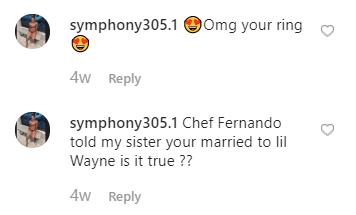 Voir la jolie femme latina Lil Wayne serait fiancée à