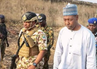Nigerian army reacts to allegation of extortion by Governor Zulum
