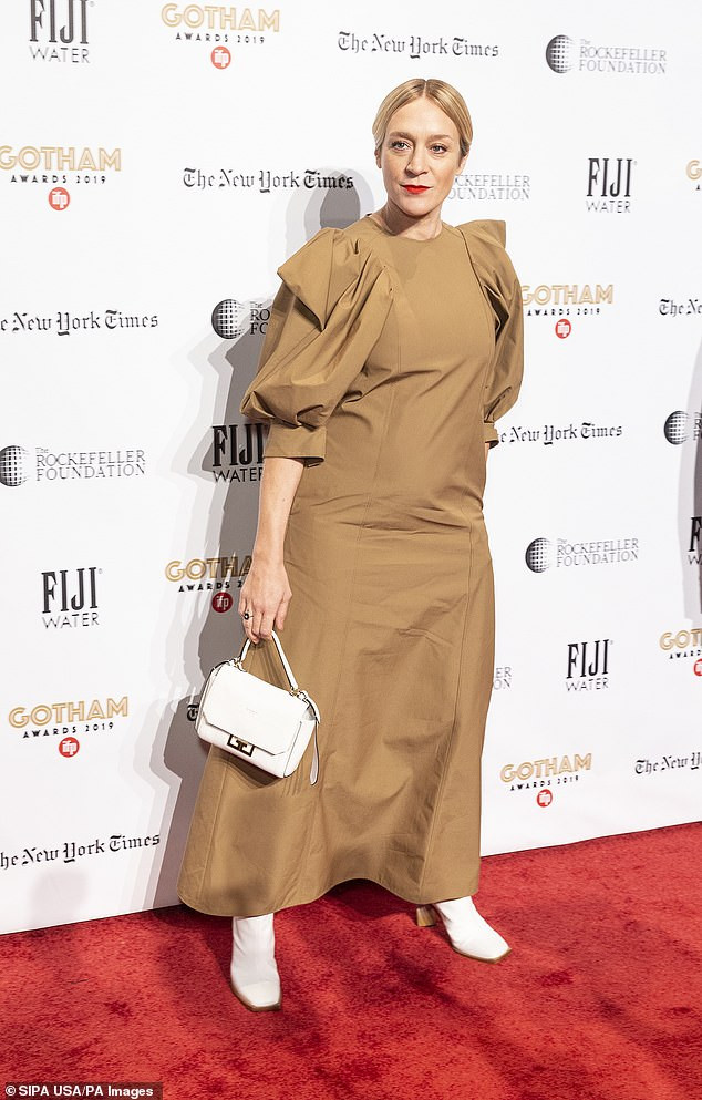 US actress Chloe Sevigny pregnant with her first child at 45
