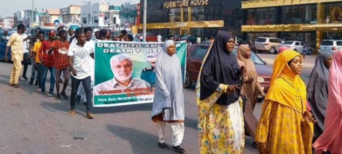 United Kingdom issues security alert to citizens in Nigeria after some Muslim groups took to the streets to protest the killing of Qasem Soleimani