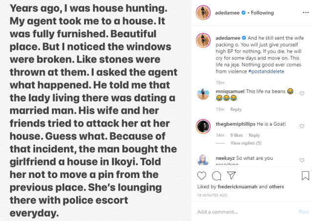 Nigerian woman leads her friends to attack her husband