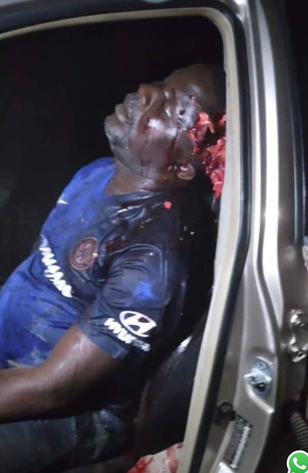 PDP chairman in Delta state shot dead last night (graphic photos)