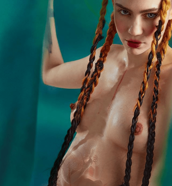 Congratulations pour in as singer Grimes shares naked photo that appears to reveal she