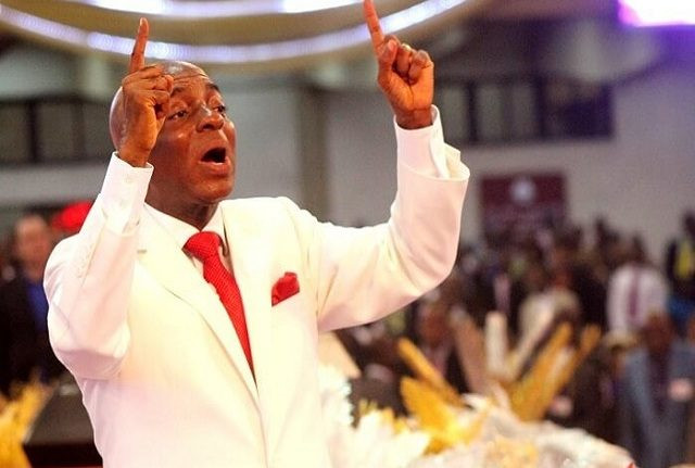 Nigerians react as Bishop Oyedepo dismisses his church