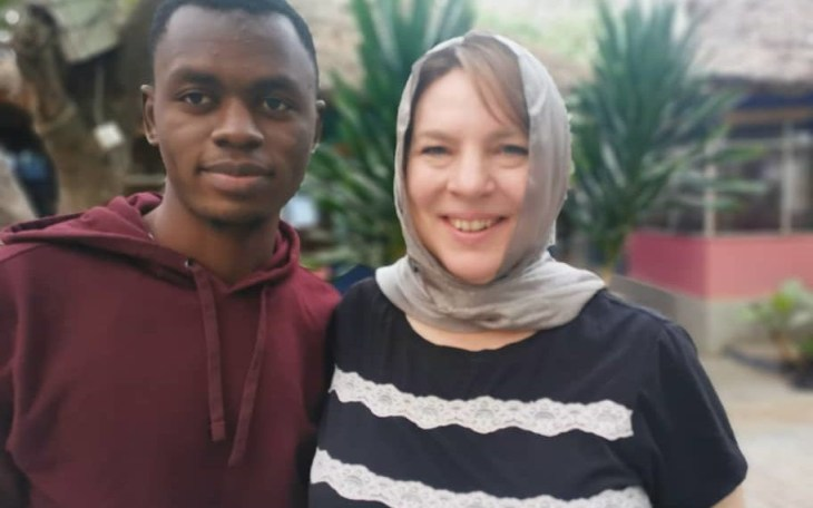 46-year-old American woman arrives Kano to marry 23-year-old man she met on Instagram